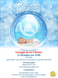 family day inscientiafides natale 2013 - cellule staminali cordone ombelicale